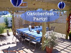 The Shed: Oktoberfest Party Decor Ideas http://www.oktoberfesthaus.com