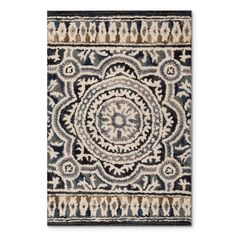 New Modern Blue Gray Brown 8x11 Rug Area Rug Casual 8x10