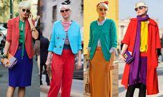 Elisa Nalin in luscious color blocking Colour Blocking Fashion, Color Blocking Outfits, Fashion 2020, Girl Fashion, Womens Fashion, Colourful Outfits, Colorful Fashion, Elisa Nalin, Chic Outfits