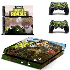 fc9adefe5e9 Fortnite Vinyl Sticker PS4 Skin Decal Sticker For PlayStation4 Console and 2  controller skins