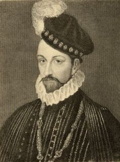 Charles Ix, 1550-1574, King Of France, Born Charles-Maximilien, The Son Of King Henry Ii Of France And Catherine De Medici. Photo-Etching From A Painting By T. Wageman. From The Book _ Lady Jackson S Works, Vii. The Last Of The Valois I_ Published London 1899 Poster Print (26 x 34)