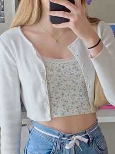 Indie Outfits, Adrette Outfits, Teen Fashion Outfits, Girly Outfits, Cute Casual Outfits, Stylish Outfits, Summer Outfits, Teenager Outfits, Simple Outfits