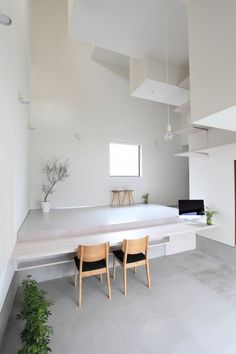 Image 11 of 27 from gallery of House of Kasamatsu & Katsutoshi Sasaki + Associates. Courtesy of Katsutoshi Sasaki + Associates Decoration Inspiration, Interior Inspiration, Interior Architecture, Interior And Exterior, Nordic Interior, Minimalist Home, Interiores Design, Living Spaces, Less Is More