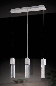 Lampy oświetlenie - VIVID 3 zwis 9732/3P Italux