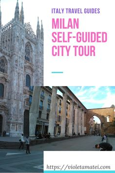 If you have one day to spend in Milan, you can use this self-guided, step by step tour of the city to visit the most important landmarks.