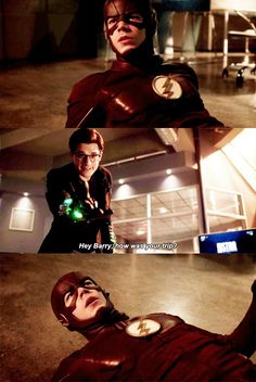 #theflash Loved this part. It's nice to think that not every villain is irredeemable!