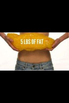 Don't let it get to this point. Belly fat kills you.