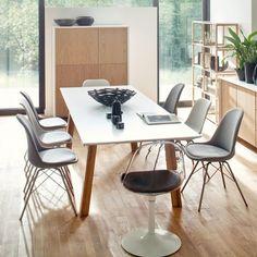 Esstisch Profil (mit Ausziehfunktion) online kaufen und viele Vorteile sichern: Große Auswahl, günstige Preise, 0€ Versand Dining Chairs, Dining Room, Dining Table, Design Tisch, Office Desk, Sweet Home, Modern, House, Furniture