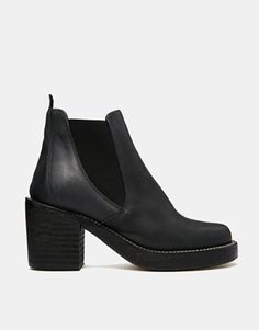 Enlarge ASOS ENTER THE DRAGON Chelsea Leather Ankle Boots