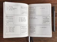 バレットジャーナル【フューチャーログ】レイアウト・デザイン54選 | わたしのバレットジャーナル