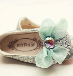 JoyFolie has some of the cutest little girl shoes on the planet. though I don't know about spending that much on little shoes that baby will grow out of fast