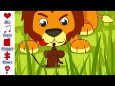 Children's Story | The Lion and The Mouse | children's story for ages 3-6 - YouTube