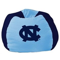 North Carolina Tarheels UNC Kids Bean Bag Chair Beanbag