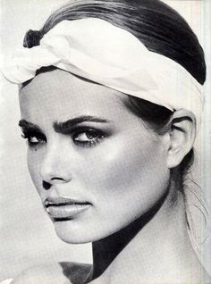 Margaux Hemingway by Francesco Scavullo, American fashion photographer best known for his work on the covers of Cosmopolitan and his celebrity portraits.