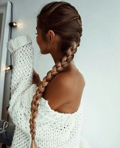 50 liebenswerte Braid Frisuren für langes Haar, Beliebte Frisuren, lange und dünne Zopffrisuren für lange Haare Messy Hairstyles, Pretty Hairstyles, Dark Brown Hairstyles, French Braided Hairstyles, Hairstyle Ideas, Hairstyle Names, Blonde Hairstyles, Hairstyles 2016, Feathered Hairstyles