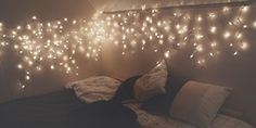 love snow pretty winter cute adorable lights cold tumblr beautiful bedrooms hipster room bedroom fresh indie ! warm cozy rooms decor modern ...
