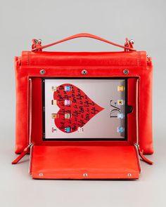 An iPad handbag! Be ready to show your portfolio at anytime.