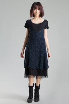 Female summer hand-Knit Dress 1281568