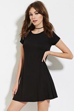 Ausgestelltes T-Shirt Kleid - Kleider - 2000151218 - Forever 21 EU Deutsch T  Shirt e24fdaa6d9
