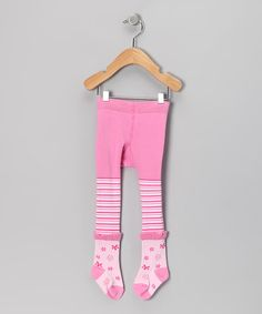 Take a look at this Pink Fifi Fashion Tights - Infant on zulily today!