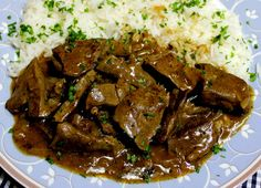 Roasted liver, a tasty recipe from the offal category. Ratings: Average: Ø Roasted liver, a tasty recipe from the offal category. Diced Beef Recipes, Roast Beef Recipes, Onion Recipes, Barbacoa, Healthy Cooking, Cooking Recipes, Cooking Kale, Liver And Onions, Succulents