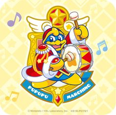 King Dedede marching