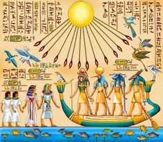 Egyptian Mythology, Egyptian Symbols, Egyptian Art, Cosmic Egg, Ancient Egypt Art, African Royalty, African Tribes, Ancient Mysteries, Ancient Civilizations