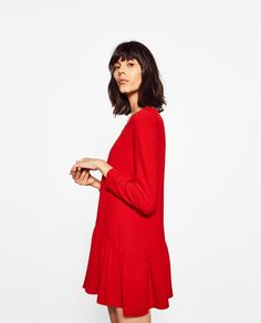 ZARA - WOMAN - SHORT FRILLED JUMPSUIT