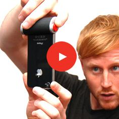 a big red button for your iphone, so much better than the onscreen button!