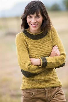 Nunavut Pullover - Media - Knitting Daily you should make this Sarah demeester
