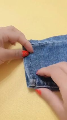 Diy Clothes Life Hacks, Diy Clothes And Shoes, Clothing Hacks, Sewing Clothes, Sewing Basics, Sewing Hacks, Sewing Tutorials, Sewing Crafts, Techniques Couture