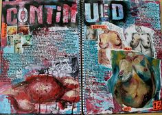 Continued.. Sketchbook: Jenny Saville (Artist Research) by Sally Al Nasser Portfolio, via Flickr