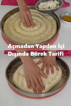 Pizza Recipes, Bread Recipes, Turkish Flat Bread, Pizza Pastry, Health Fitness, Food And Drink, Pudding, Cooking, Desserts