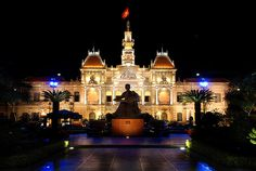 France colonial heritage buildings is now used as the governor's office of the Saigon city.  Appear a statue in front of this building is a statue of Ho Chi Minh who became the new name for the city formerly Saigon.    Ho Chi Minh (hô chē min), 1890–196 Tips on how to (get unlimited talk free mobile 4G USA|learn about the best video communications SW|get your free internet marketing software|explore a new business opportunity anywhere in the world) learn more on www.avv-lawyer.com