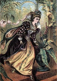 Cinderella (c1865) Coloured Engraving No 5 | Flickr - Photo Sharing!