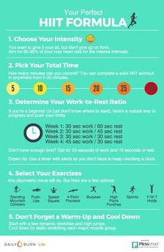 Design Your Own HIIT Workout with This Perfect Formula