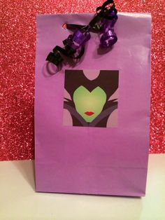 But you can make your own - 8 Pre Filled Disney Maleficent Party Favor Bags by ThePartyDaddy, $29.99