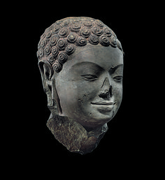 Head of Buddha, century. The Metropolitan Museum of Art, New York. Gift of Doris Wiener, 2005 Asian History, Art History, Art Sculpture, Sculptures, Laos, Buddhist Philosophy, Art Premier, New York, Buddhist Art