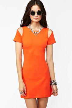 Orange Slice Dress