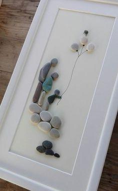 Pebble art family3 big Family3 pebble art by pebbleartSmiljana