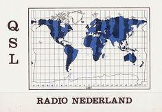 Old QSL of Radio Nederland