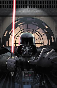 Darth Vader and the Ninth Assassin /by ?? #StarWars #art