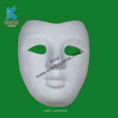 Paper Pulp Masks, White Masks, Half Masks, Half Face Masks
