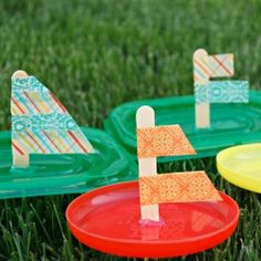 You don't need to live by a river or even have a bathtub to make your sailboat craft float. You can create your very own Dollar Store Sailboat Float with tinfoil, a hose, and a mandatory smile. Dollar store crafts allow you to have an amazing time. Summer Crafts For Kids, Summer Activities For Kids, Projects For Kids, Summer Fun, Craft Projects, Summer Ideas, Kid Activities, Spring Crafts, Easy Projects