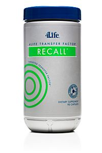 Improve your brain health and lead an active and vigorous life with 4Life Transfer Factor® ReCall®, made with effective, natural ingredients. [ 4LifeCenter.com ] #transferfactor #life #health