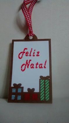 Tag de Feliz Natal com Silhouette... By Ketley Mary