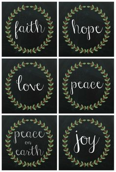 Free Christmas Printables to Download - One Perfect Day