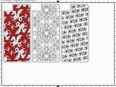 Ensamplario Atlantio adaptations for cross stitch iphone cases