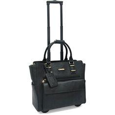 Travelwell The Runaway Compact Weekend Goodhope Rolling Duffle Bag Black