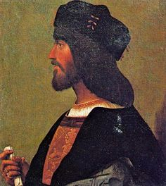 """Cesare Borgia, """"Duke Valentino"""". According to Machiavelli, a risk taker and example of """"criminal virtue"""". Failed in the end because of one mistake: he was naive to trust a new pope."""
